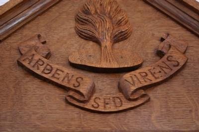 Ardens Sed Virens, War Memorial 1914-1918, Fahan Presbyterian Church