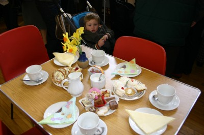 Easter Coffee Morning eat as much as you like