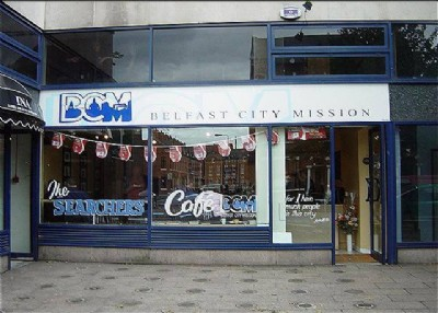 Searchers Cafe run by Belfast City Mission