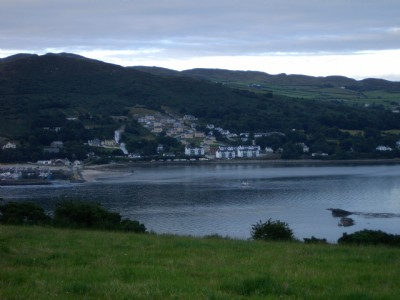 Village of Fahan from Inch Island