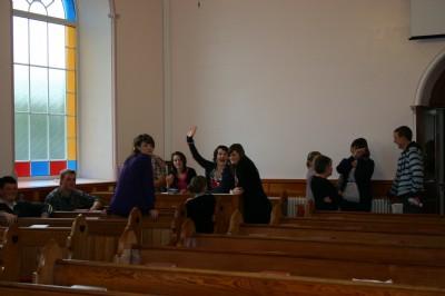 Fahan Presbyterian Church. Good Craic after theChurch Service