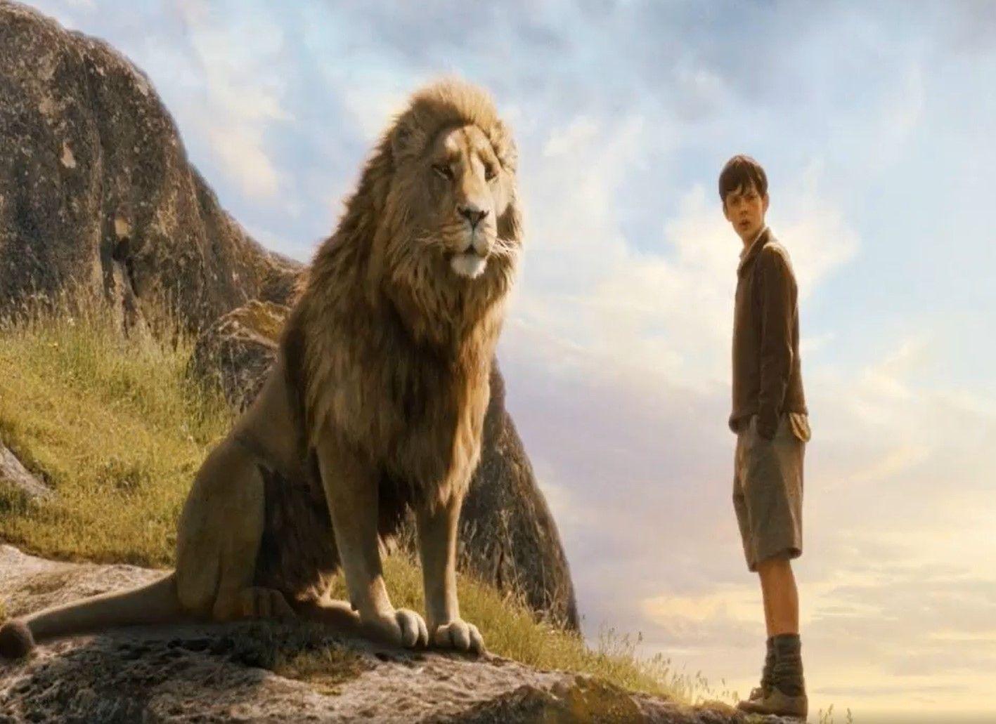 Narnia lion Aslam