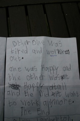 Enthuastic child replies to Ministers story