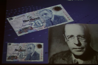 The man on the £20 note, Harry Ferguson, inventor