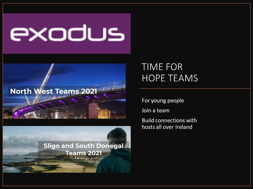 Exodus teams 2021