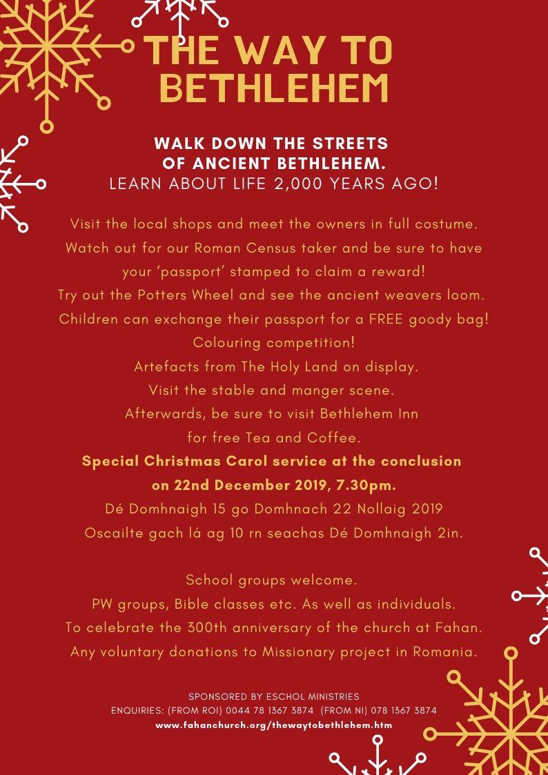 The Way to Bethlehem rear