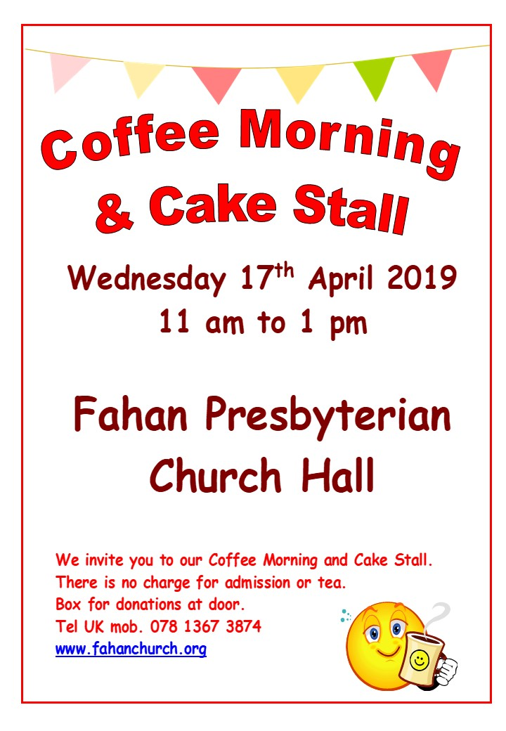 Coffee Morning and Cake Stall