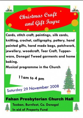 Christmas Craft Fayre 291108