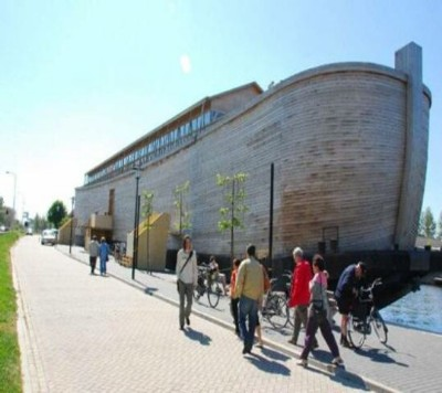 Much larger than you probably imagined? Noahs Ark.