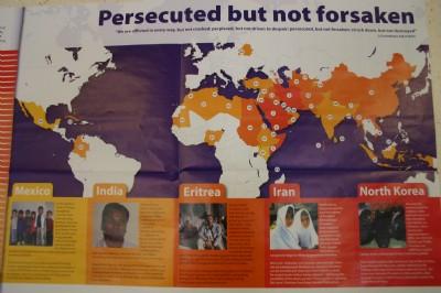 Open Doors Persecuted but not forsaken.