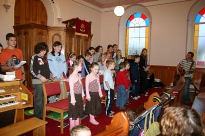 Childrens Choir Practice