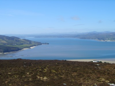 Lough Swilly from Gollon Hill