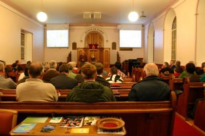 The life story of inventor Harry Ferguson at Fahan Presbyterian Church.