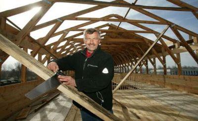 Built by John Huibers, Netherlands. A modern Noahs ark