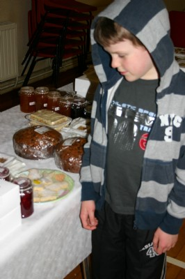 How will I spend my pocket money at the Easter Coffee morning?