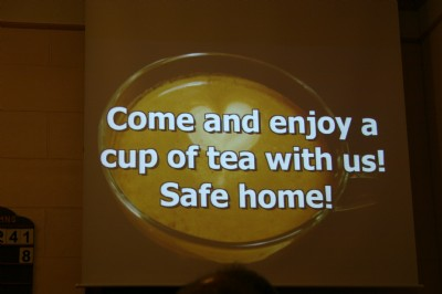 Come and enjoy a cup of tea after the service