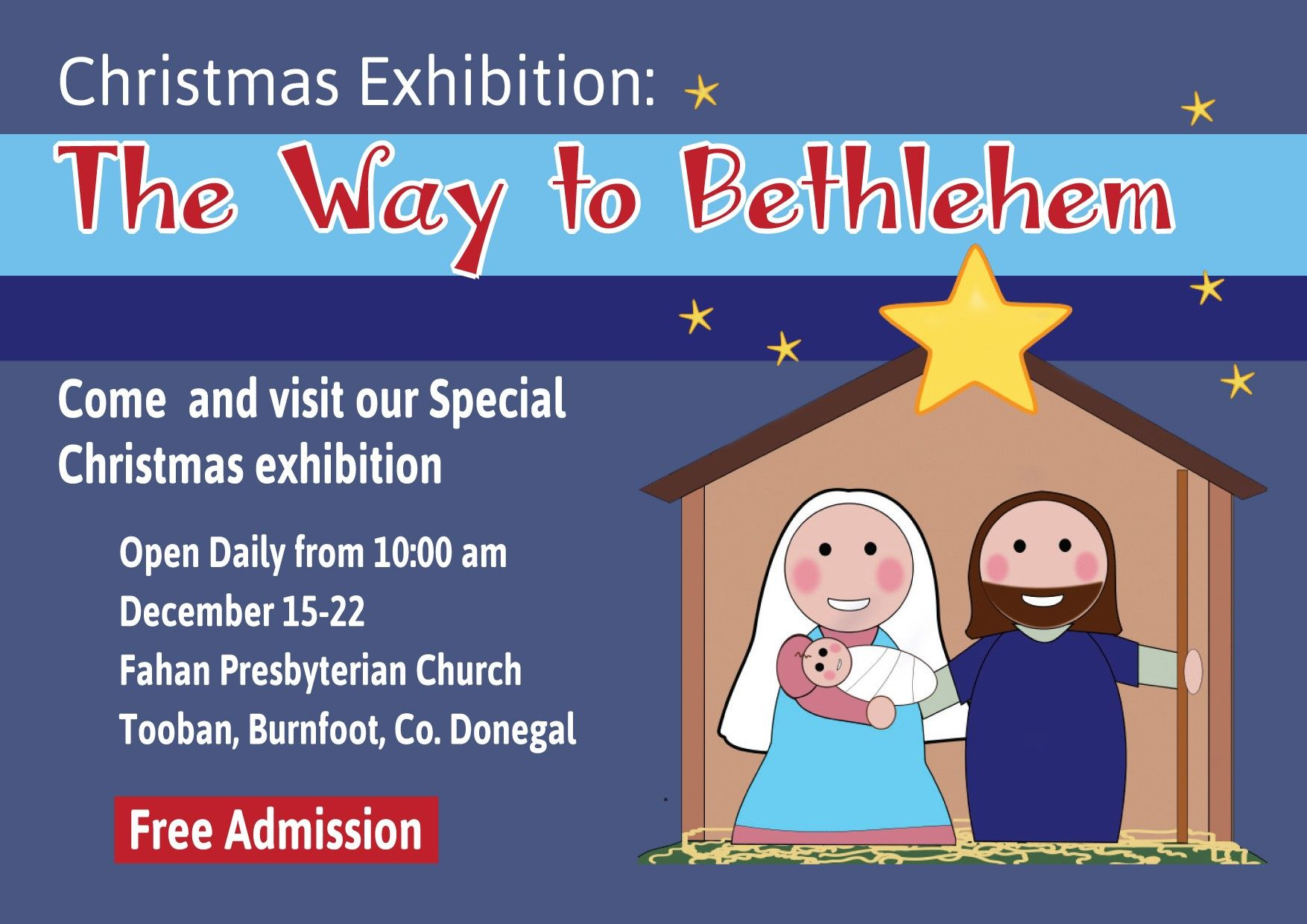 The Way to Bethlehem, December 2019