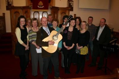 Mitch of Crown Jesus &  Fahan Church Choir