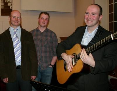 Mitch the evangelist with Andrew lamberton  David Darragh