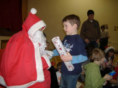 Christmas Children Party. A good time for the adults and children