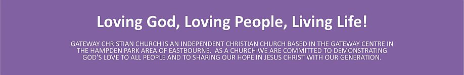 Gateway Christian Church Footer