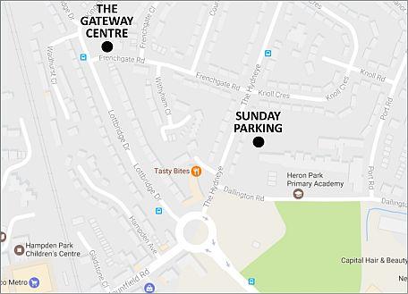 Map - Parking