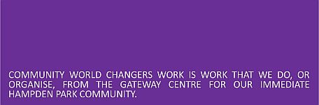 Community World Changers Header