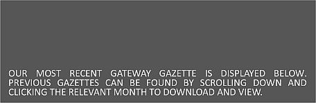 Gateway Gazettes Header