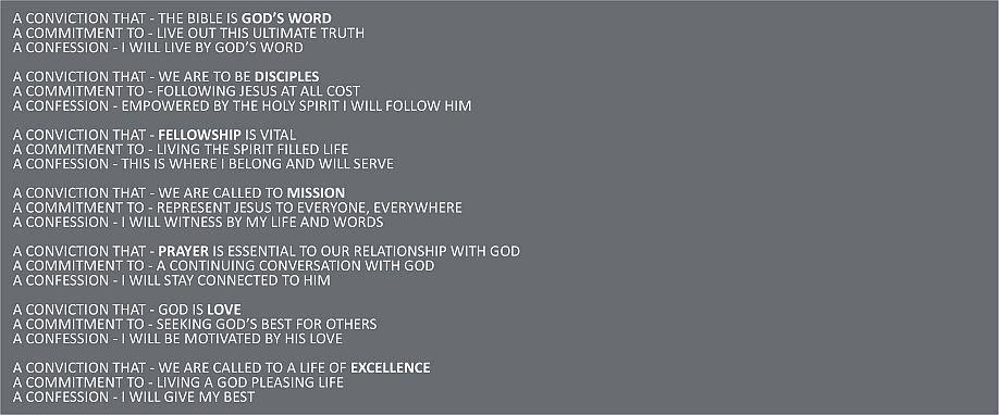 Our Values Text