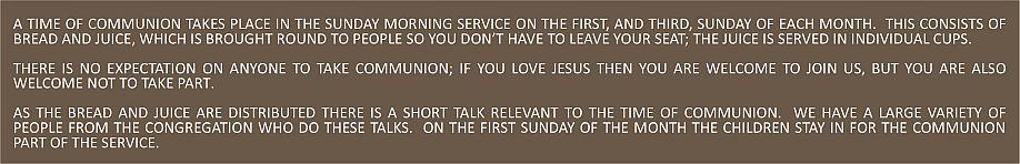 Communion Text