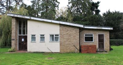existing church hall side elevation