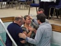 Water baptism photos