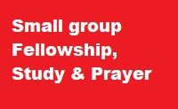 Small Groups at the church and in homes