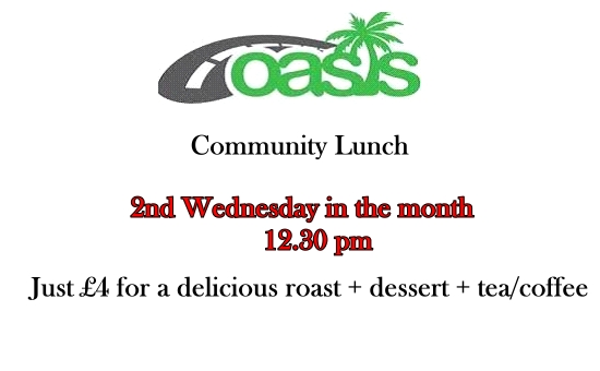 Oasis Monthly Lunch Club