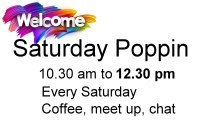 Enjoy a cuppa at the Poppin Centre Westward Ho
