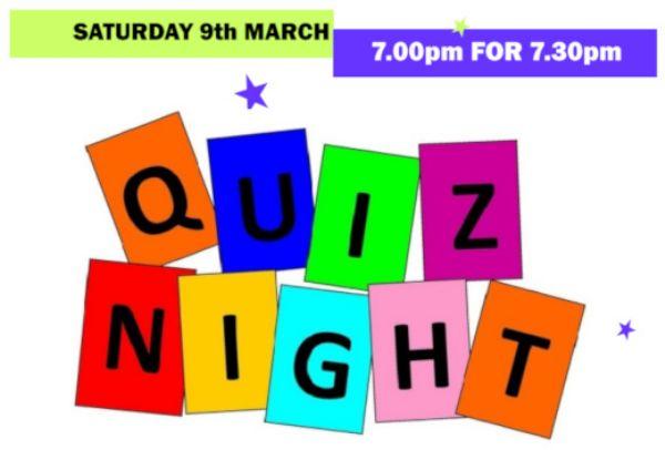 Quiz Night poster top