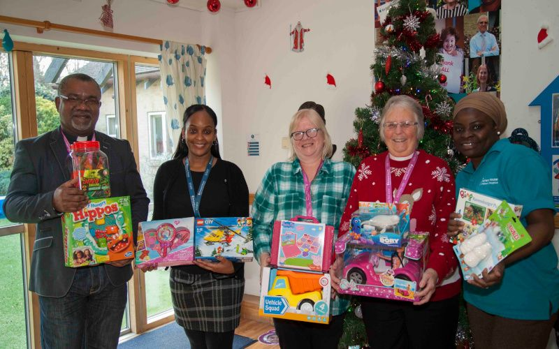 Presentation of toys to Richard House Children's Hospice