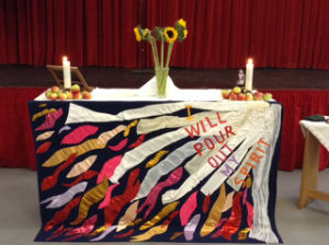 Tha Alter for the Harvest Service