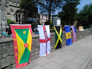 Barnabas Day flags