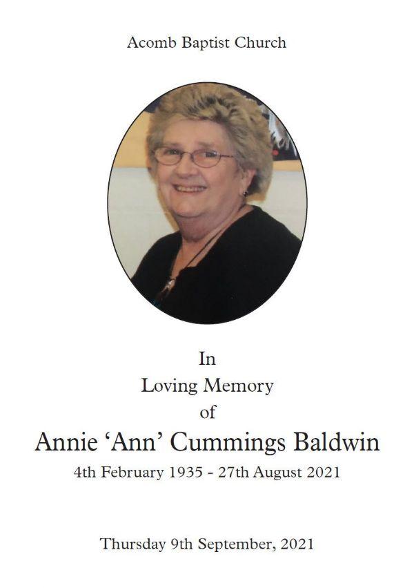 Ann Baldwin 1