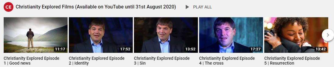 Christianity Explored YouTube Link1