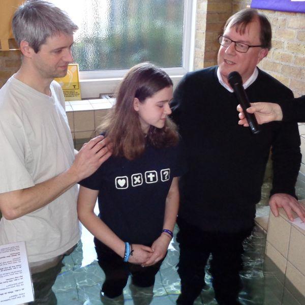 Rachel's Baptism 3 February 2019