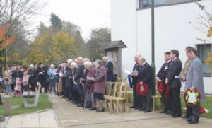 Southwater veterans attend Remembrance Service at