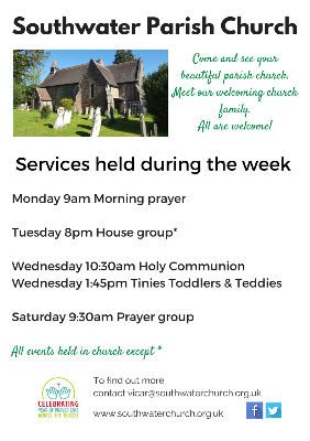 Midweek services until August