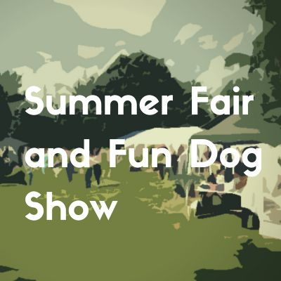 Button Church fair and dog show