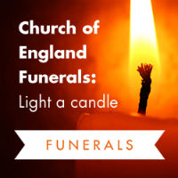 funeral candle button