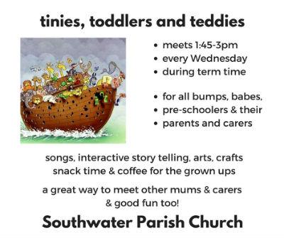 tinies toddlers and teddies