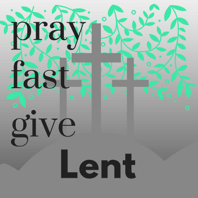 Lent button