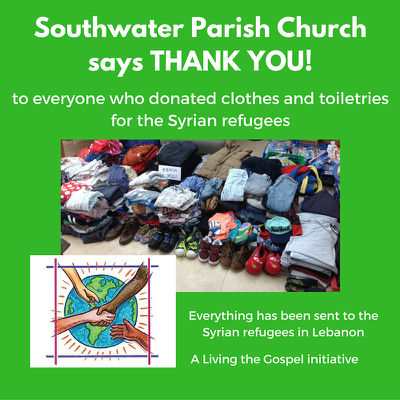 Thank you - Donations for Syrian refugees
