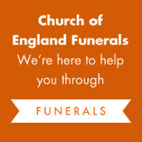 Funerals button